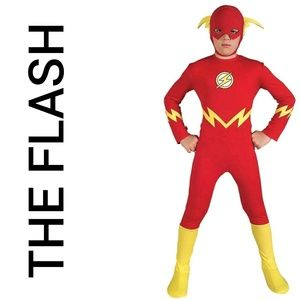 Other - The Flash DC Comics Child Costume New